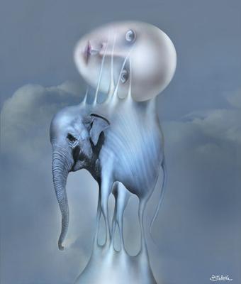 Blue Dream by Svetlana Bobrova